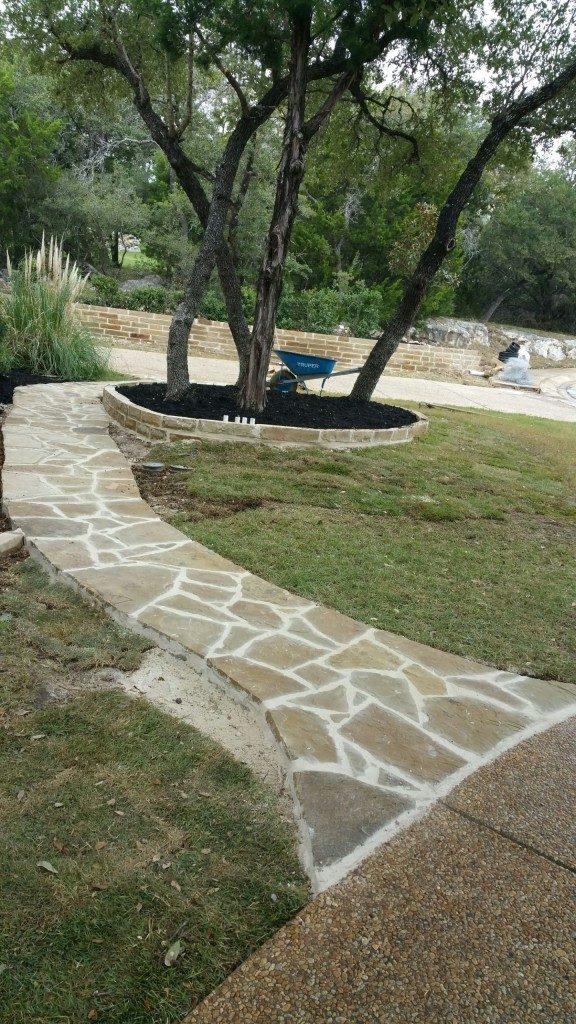 custom landscaping san antonio texas 210 818 8744