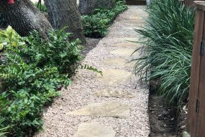 Residential Stone Path